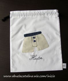 Bolsa de viaje para ropa interior modelo BVA personalizada