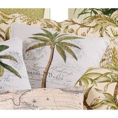 Barbados Sand Palm I Wales Pillow