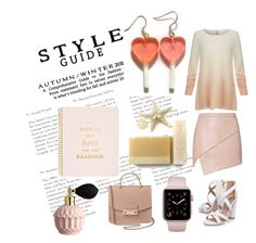 """""""Styling"""" by michelle-thompson-v ❤ liked on Polyvore featuring Michelle Mason, Joie, Miss KG, Kate Spade and Furla"""
