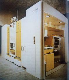 Total Furnishing Unit, 1972, Joe Colombo