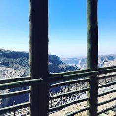 What an absolutely stunning view from our terrace at @alilajabalakhdar @alilahotels it is breathtaking! Its been a long day getting here but its going to be worth it! #oman #visitoman #childfreedays #40thbirthday