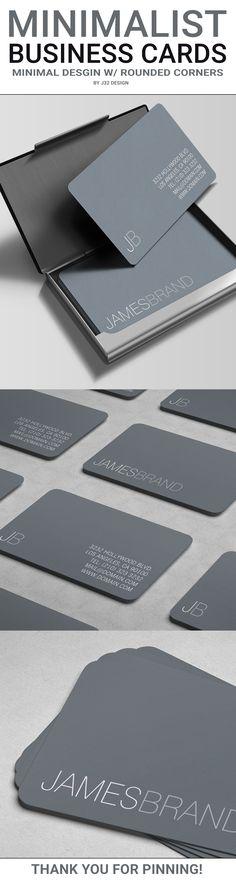 Modern Business Card Example 8 30 Modern Business Card