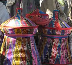 I want one of these for the new house: traditional Ethiopian basket for storing injera.