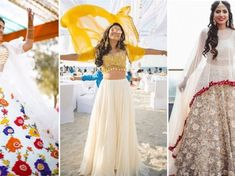 Couple Outfits - Stylist's Reveal Wedding Ready Ideas for Swoon Worthy Coordinated Outfits 💖 - Witty Vows Mehendi Outfits, Indian Bridal Outfits, Bridal Looks, Bridal Style, Wedding Styles, Wedding Pics, Wedding Album, Wedding Trends, Designer Wedding Shoes