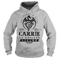 CARRIE an Endless Legend Sports-Grey-Hoodie