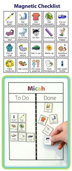 Find out how capable your kids are with this Magnetic Checklist from The Trip Clip. Perfect for setting up a morning routine, an after school checklist, a bedtime routine, or a chore chart. You can even easily print your own magnets! Kinder Routine-chart, Kids And Parenting, Parenting Hacks, Foster Parenting, Gentle Parenting, After School Checklist, Kids Routine Chart, Toddler Routine, Kids Schedule