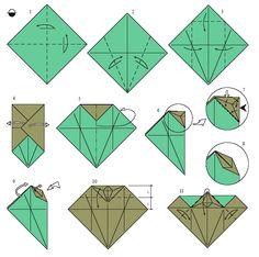 Yoda en origami 1