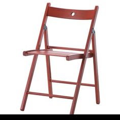 terje folding chair red ikea maybe a couple of these for extra seating