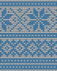 Подбор цветовой гаммы для вязания жаккардового узора Fair Isle Chart, Fair Isle Knitting Patterns, Pattern Library, Cross Stitch Designs, Crochet, Diagram, Cards, Groomsmen, Loom