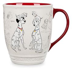 Mug Les 101 Dalmatiens, Collection Disney Animators
