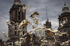 http://www.dollarphotoclub.com/stock-photo/Skeletons of Traditional Day of the Dead, Mexico/60176285 Dollar Photo Club millions of stock images for $1 each
