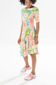 vestido gode running floral jeri