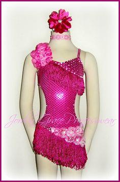 """""""I  Dance""""-Jordan Grace Princesswear custom jazz costume."""