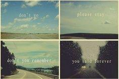 Ga niet ...