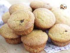 Receta Postre : Muffins con pepitas de chocolate negro por Petitchef_oficial