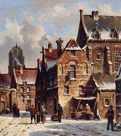 Adrianus Eversen (1818 - 1897) – известный  голландский художник,