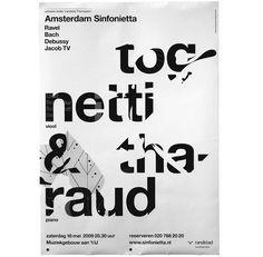 Adam Sinfonietta : designed at Studio Dumbar