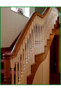 Timber Handrail, Stair Spindles, Banisters, Newel Posts, Glass Panels, Stairs, Natural, Stairway, Staircase Railings