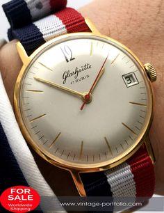 Glashütte watch with nato strap 36mm vintage #Vintage#style#luxury#businessattire#gentlemanstyle#lifestyle#menstagram#mensaccesories#dapper#Timeless#watches#watchesofinstagram#Wristshot#Womw
