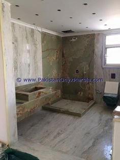 Onyx Marble, Bathroom Countertops, Green Onyx, Furniture, Color, Design, Home Furnishings, Colour, Arredamento