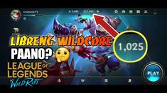 Paano Magkaron ng Libreng Wirecores sa WildRift App Hack, Mobile Legends, Fb Page, New Skin, League Of Legends, How To Get, Youtube, Tv, Grey