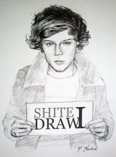 i draw shite