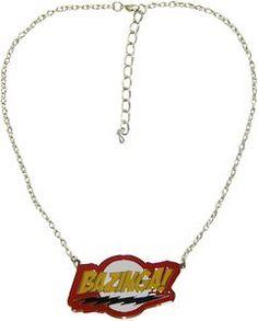 The Big Bang Theory Bazinga Necklace