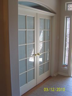french door wall (like grandma's :) ) off living room to playroom / teen chill pad.  keeps it open for parents to see activities.