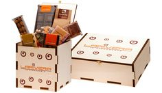 confezione in legno personalizzata Per Larivera Cioccolato a #torino #cromobox #natale wooden box wood packaging box