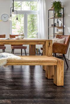 Modern, offen und massiv - Natura Nebraska von Spitzhüttl Home Company. #wohnen #massivholz #naturpur #esstisch #speisen #möbel #einrichtung