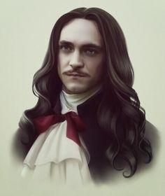 "George Blagden as Louis XIV. Love him in ""Versailles""."
