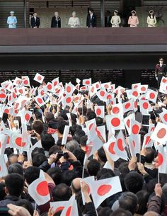 天皇陛下の誕生日参賀に平成最多の3万8000人、初めての若年層も #皇室 #天皇陛下