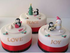 #Christmas #Cakes #Decorative