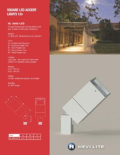 Manufacturer of a complete line of quality architectural, landscape and custom lighting fixtures for exterior and interior use Accent Lighting, Custom Lighting, Literature, Exterior, Lights, Landscape, Architecture, Literatura, Arquitetura