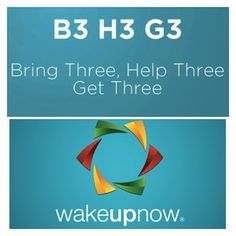 Wake Up Now's formula for financial freedom! Bring 3 Help 3 Get 3 = $600/month, every month!!! What could you do with an extra $600/month? Email me for more info :