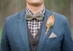 42 Gorgeous Fall Wedding Boutonnieres | Decor Advisor