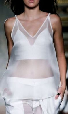 Ports 1961 | Spring 2015. Simple top and bra. Would go good with anything