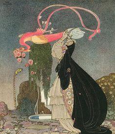 The Twelve Dancing Princesses by Kay Nielsen
