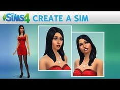 The Sims 4 | Create a Sim - Floral Themed - YouTube