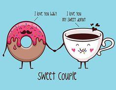 """查看此 @Behance 项目:""""Illustrations """"I Love Coffee""""""""https://www.behance.net/gallery/18426257/Illustrations-I-Love-Coffee"""
