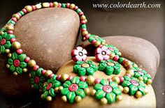 Image result for terracotta jewellery designs