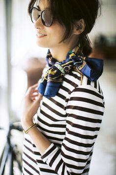 ファッション小物/シンプルボーダーもエ...|ファッションからインテリア、料理まで、暮らしを楽しむ雑誌「LEE(リー)」の公式サイト「LEEweb(リーウェブ)」|HAPPY PLUS(ハピプラ)