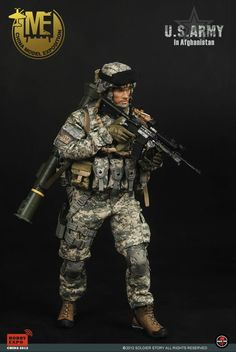 onesixthscalepictures: Soldier Story US Army in Afghanistan (China Model Exposition) : Latest product news for 1/6 scale figures (12 inch co...