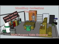 Woodshop Confessions - Away from the shop addition - Workbench overview - YouTube