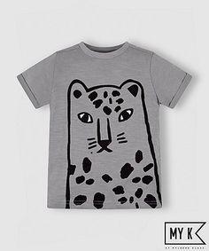 my k leopard t-shirt £6
