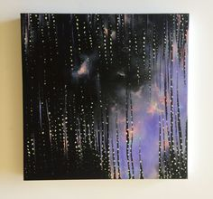 Peering Through Abstract Painting, Acrylic on canvas by JessicaFraserArt on Etsy