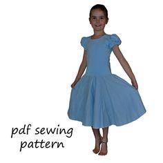 Storybook Dresses pdf sewing pattern girls sizes by tumblentwirl, $8.00