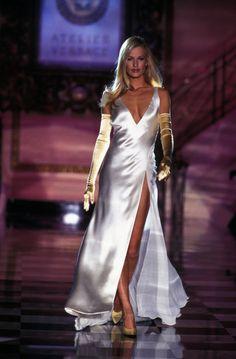 VERSACE Couture spring summer 1995 - Karen Mulder