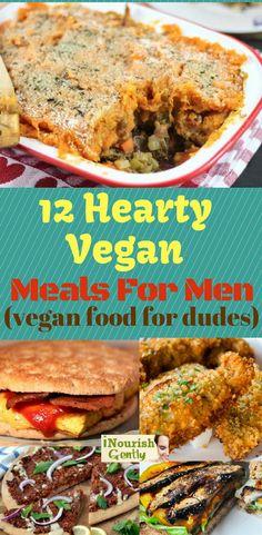 vegan meals for men