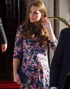 March 2, 2015 - Kate Middleton was out in London to celebrate Goring Hotel's 105th birthday
